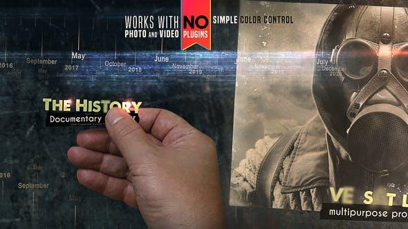 Videohive The History - Documentary Opener 25028339