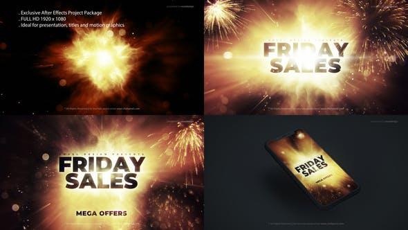 Videohive Friday Mega Sales Opener29406124