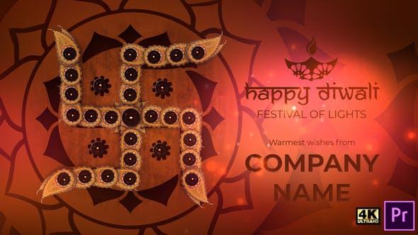 Videohive Happy Diwali Deepavali Greeting Titles 29260770