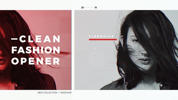 Videohive Clean Opener   Fashion Style   Modern Gallery   Stylish Intro 22688812