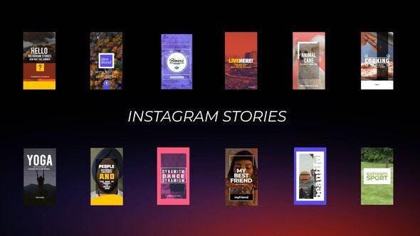 Videohive Instagram Stories 28602933