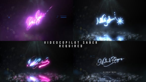 Videohive Reveal Your Signature 29056823
