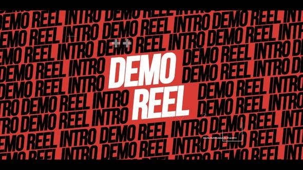 Videohive Demo Reel Intro 28256953