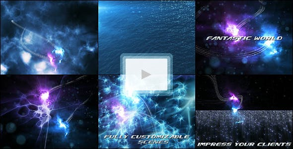Videohive Abyss Creatures Trailer 133992