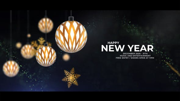 Videohive Christmas Party Invitation 2021 29366569