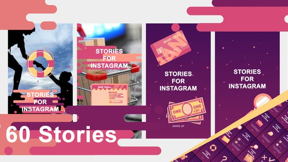 Videohive 60 stories 24772292