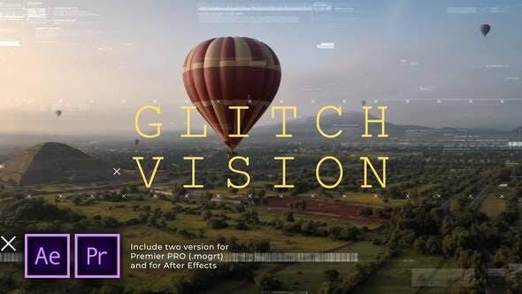 Videohive - Glitch Vision Slideshow - 29622473