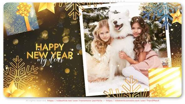 Videohive New Year Lovely Slideshow 29569483