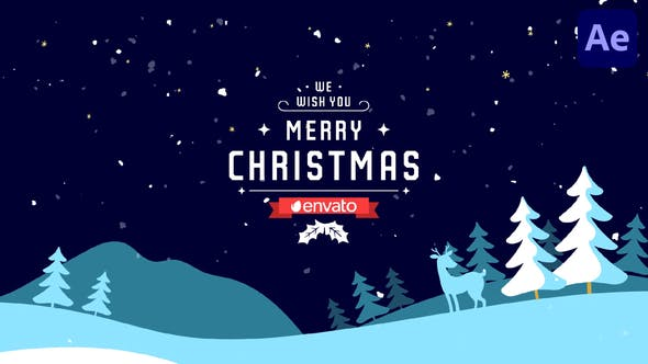Videohive Christmas Greetings   After Effects 29656641