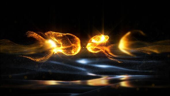 Videohive - Gold Particles Logo - Premiere Pro - 29543522
