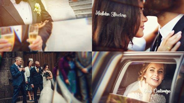 Videohive Cinematic Wedding Slideshow 29559278