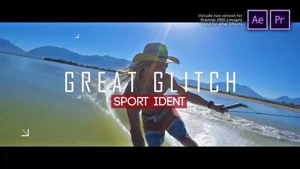Videohive - Sport Ident Glitch Slideshow - 29622502