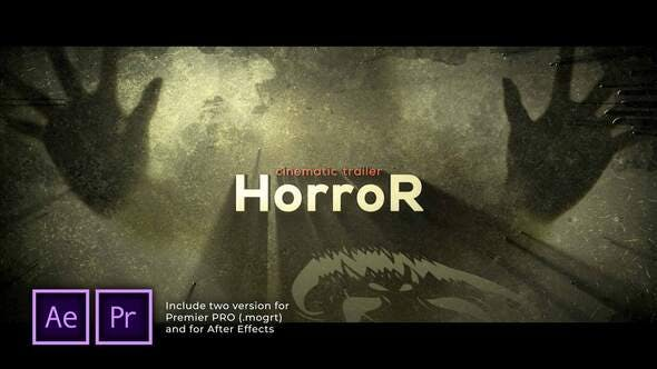 Videohive - The Horror Cinematic Trailer - 29622461