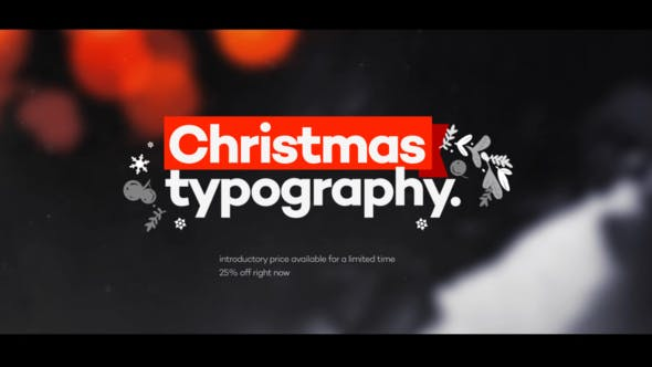 Videohive Christmas is 25107424