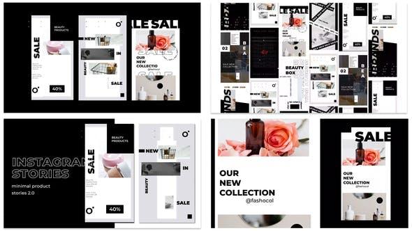 Videohive Minimal Sale Stories Instagram 29594337