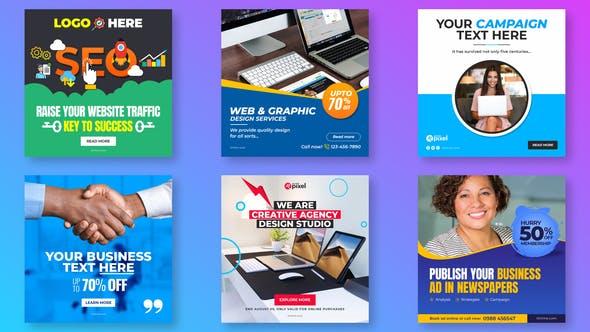 Videohive Business Promo Social Post V28 29585711