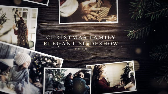 Videohive Christmas Family Elegant Slideshow 29661521