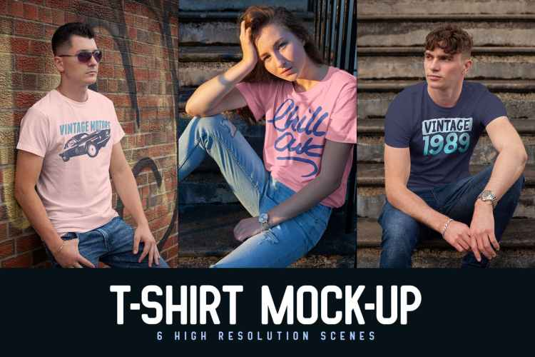T-shirt Mock-ups SASDWAT