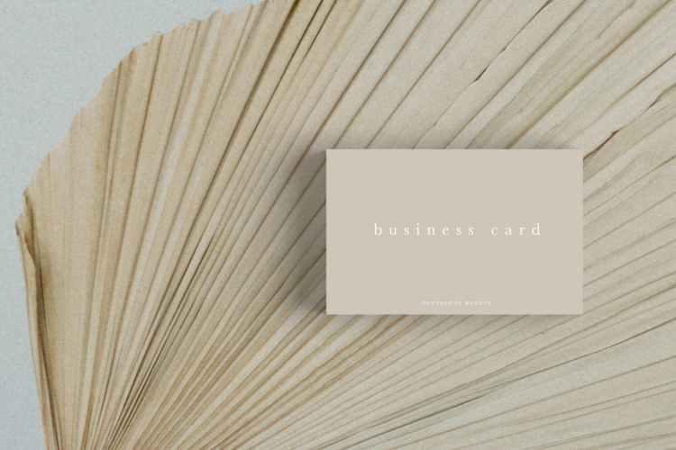 Business Card Mockup #20 STRTGQV