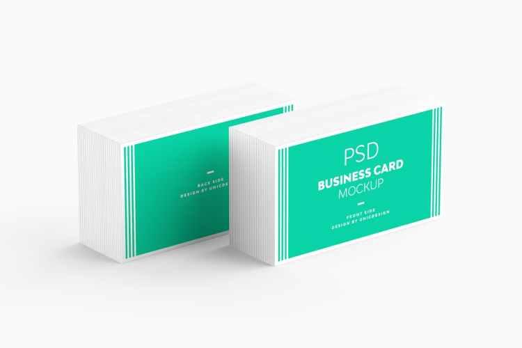 Business Card Mockup YRJ58B2