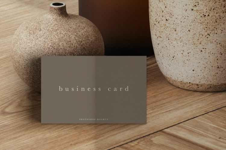 Business Card Mockup #18 WR4QVBD