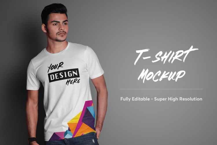 T-Shirt Mockup 4.0 CA2DNJ6
