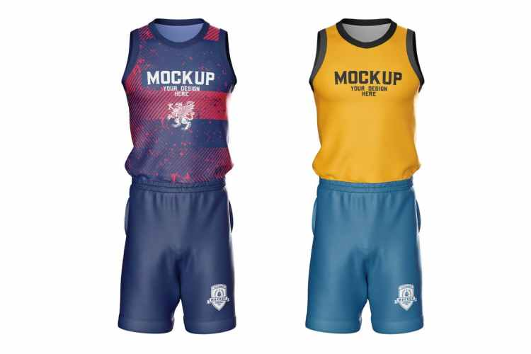 Basketball Kit Mockup MFCRJ6Q