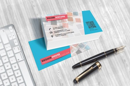 300  Best Free Business Card PSD and Vector Templates Free Colorful Business Card Template PSD