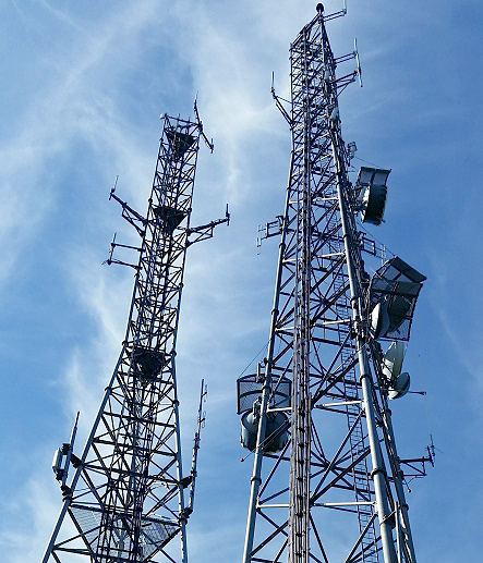 radio tower, Ring Hill