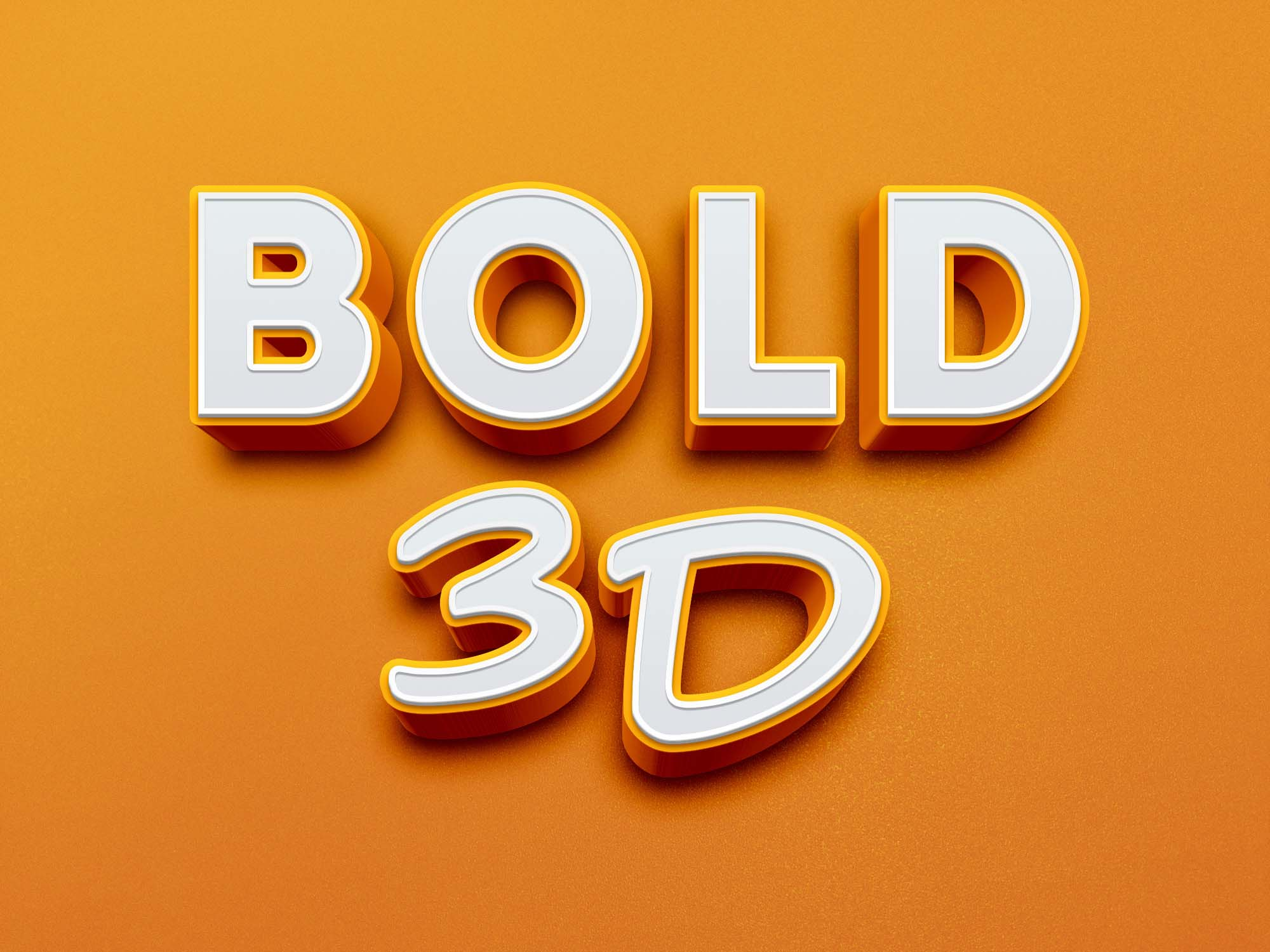 Sign up for a pro account with zofile.com for fast download. Free Bold 3d Text Effect Psd Best Free Photoshop Files
