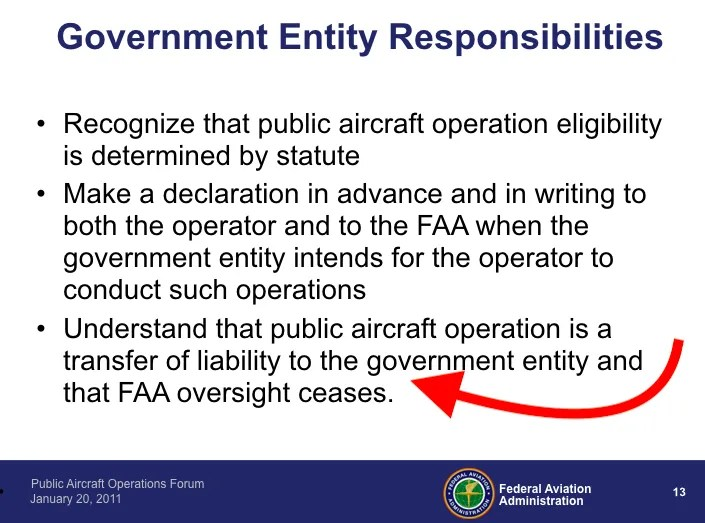 Why Flying A Uas Under A Coa As Public Aircraft Operations May Be