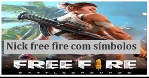 Letras diferentes para nick free fire