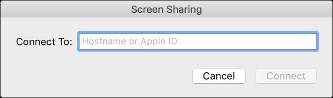 aplicativo de compartilhamento de tela
