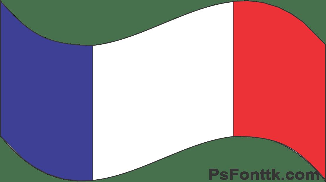 bandeira da França emoji e PNG 🇫🇷