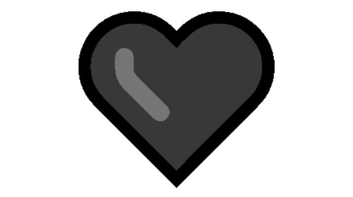 Black Heart Emoji Copy and Paste