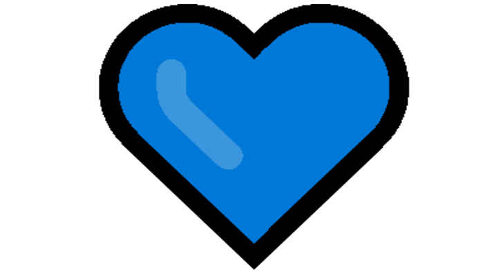 Blue Heart Emoji Copy and Paste