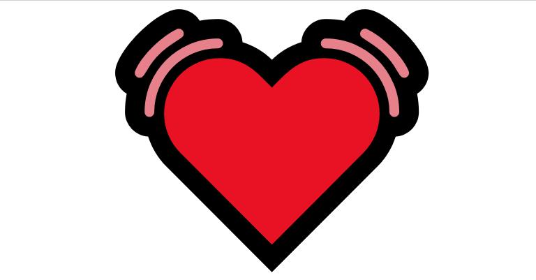 Coração Emoji PNG 💓