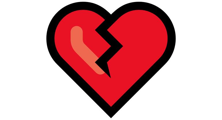 Coração Emoji PNG 💔