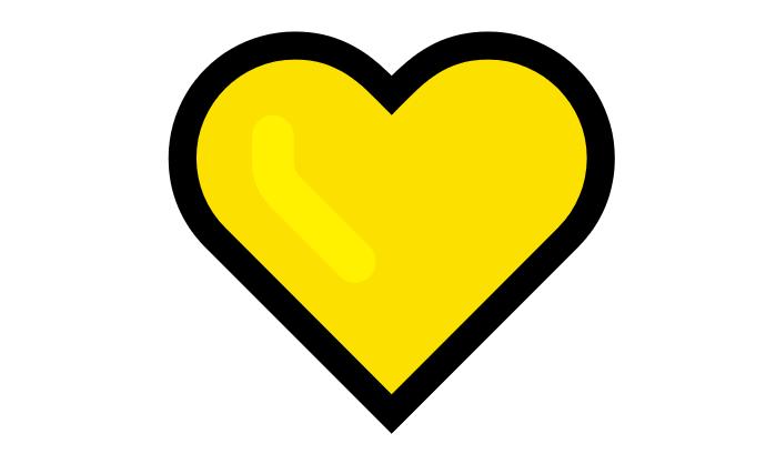 Coração Emoji PNG 💛