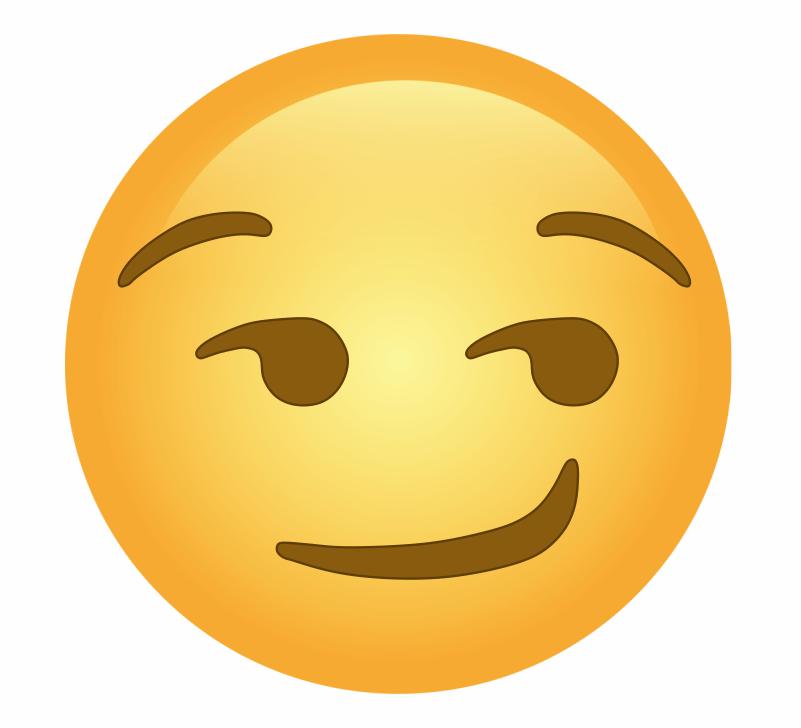 😏, Smirking Face Emoji