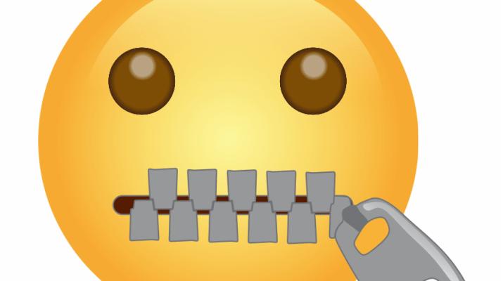 🤐, Zipper-Mouth Face Emoji