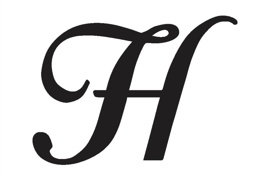 Cursive Capital H
