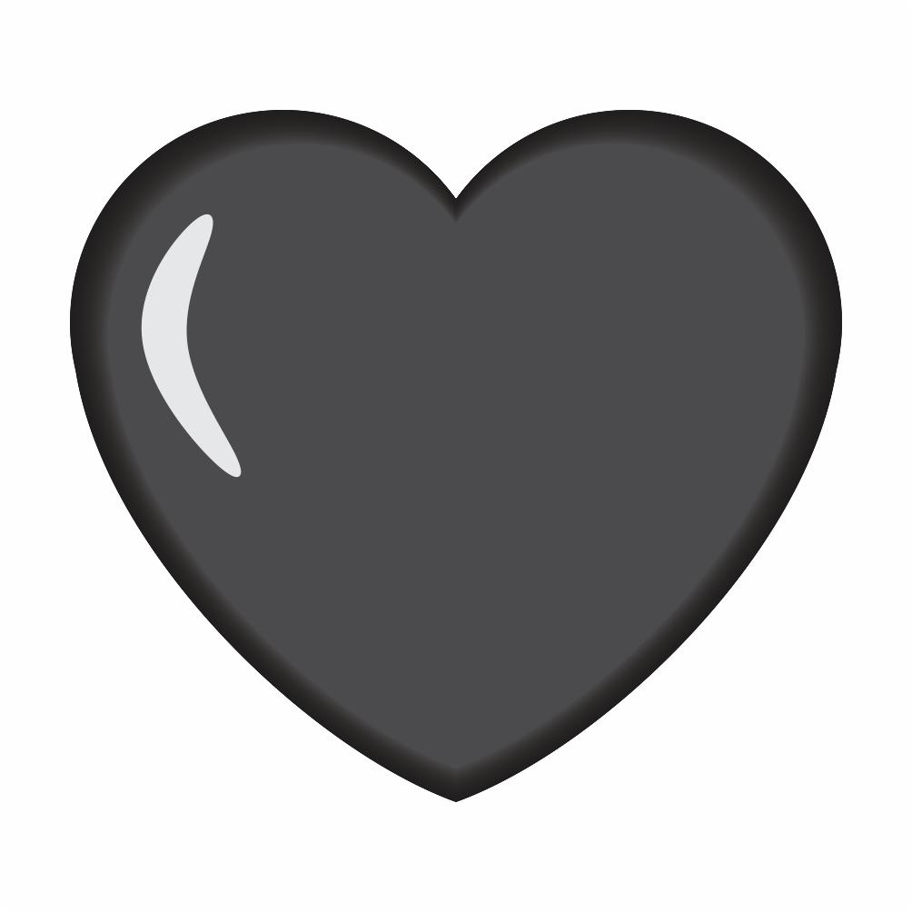 🖤, Emoji Coração Preto