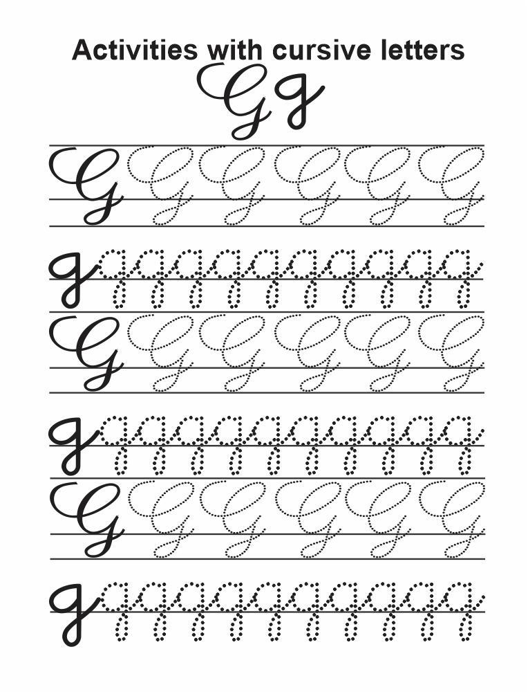 Cursive G