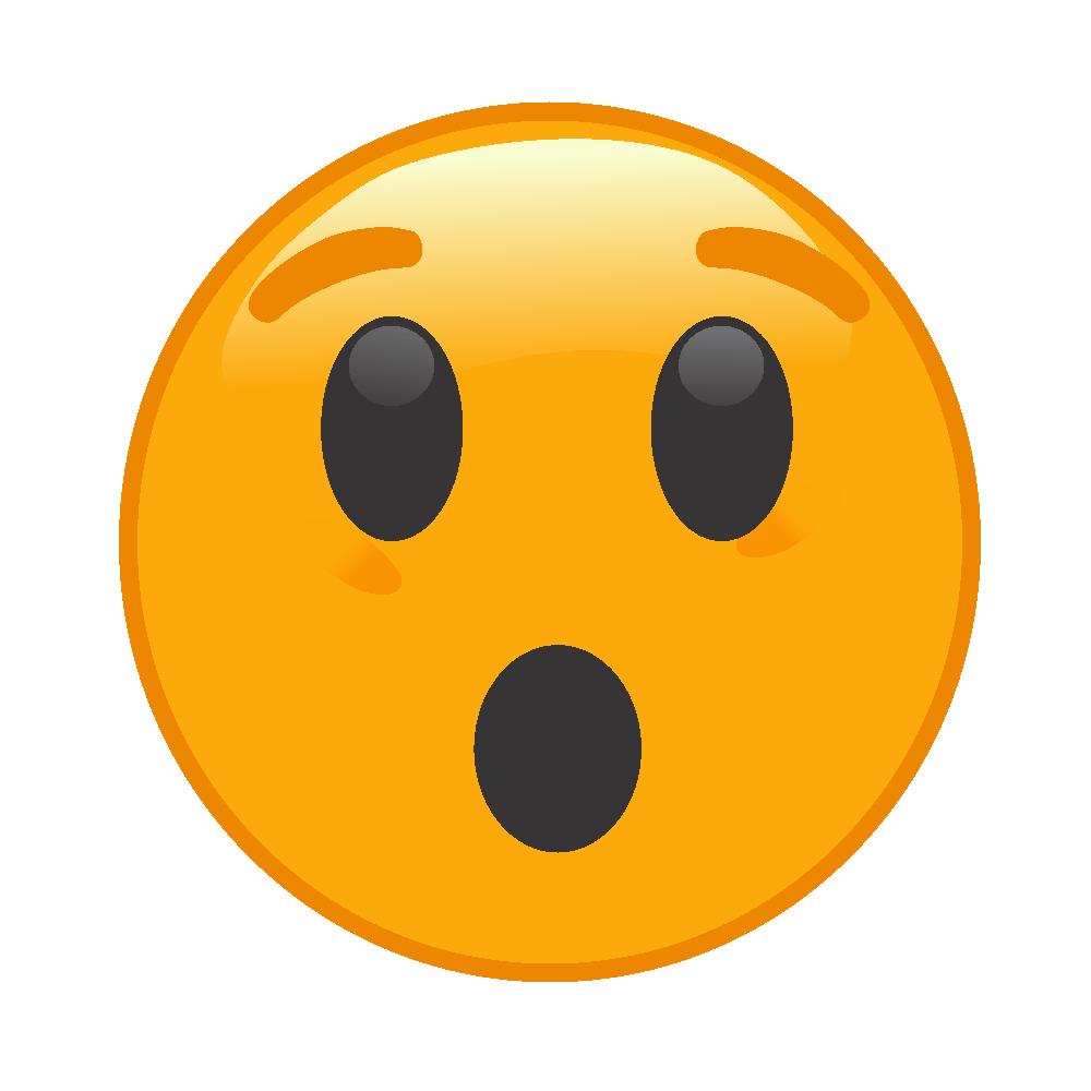 Emoji surpreso