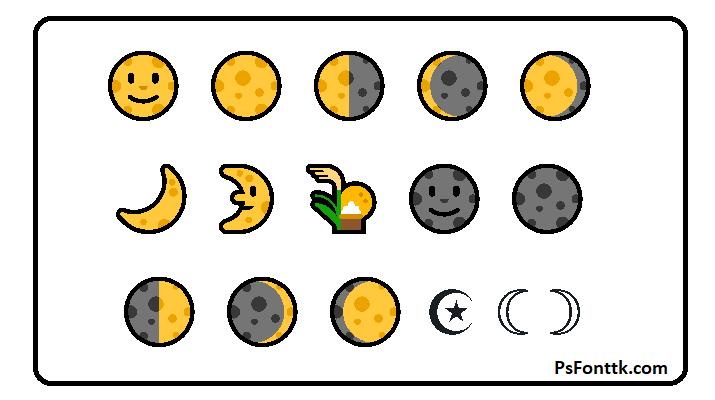 Luna Emoji, Luna Copiar y Pegar