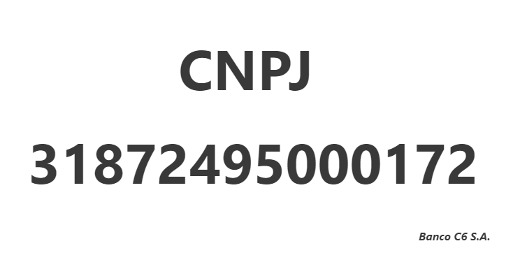 CNPJ 31872495000172