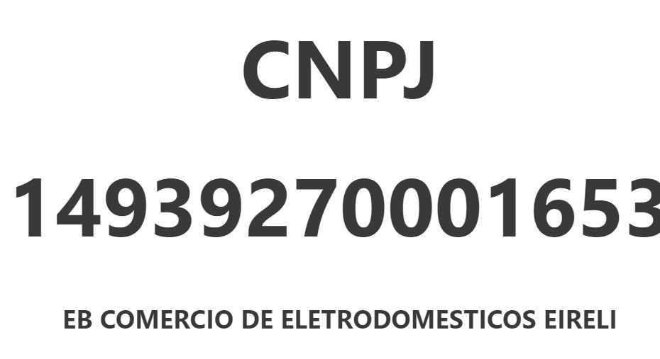 cnpj 14939270001653