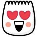 Emoji love face tiktok