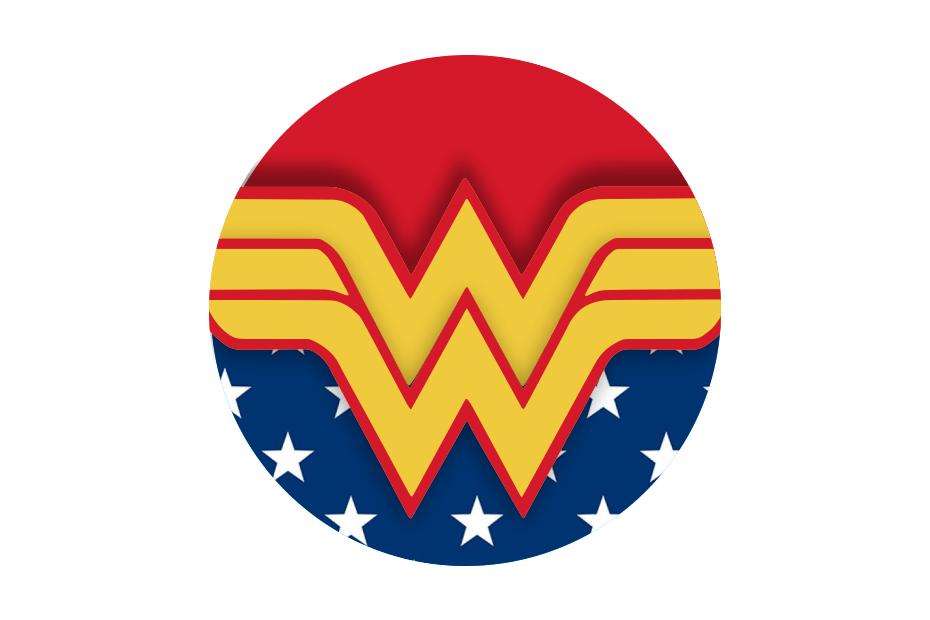 simbolo da mulher maravilha